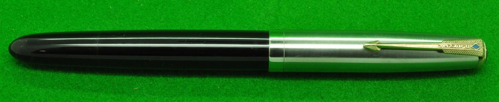 Parker 51 Clutch Pencil c1950 Vintage Forest Green with Lustraloy